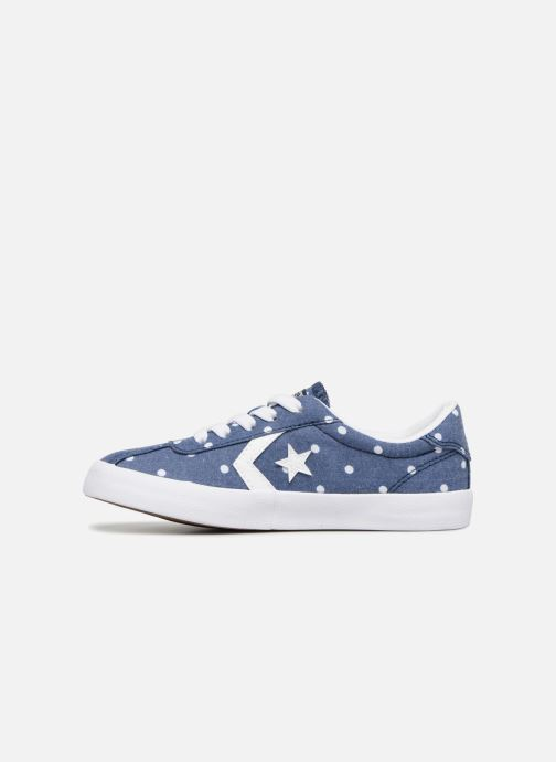 Trainers Converse Breakpoint Girls Polka Dot Ox Blue front view