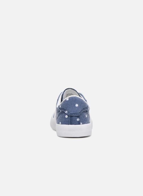 Trainers Converse Breakpoint Girls Polka Dot Ox Blue view from the right