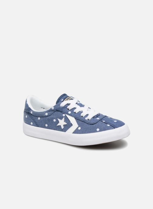 Trainers Converse Breakpoint Girls Polka Dot Ox Blue detailed view/ Pair view