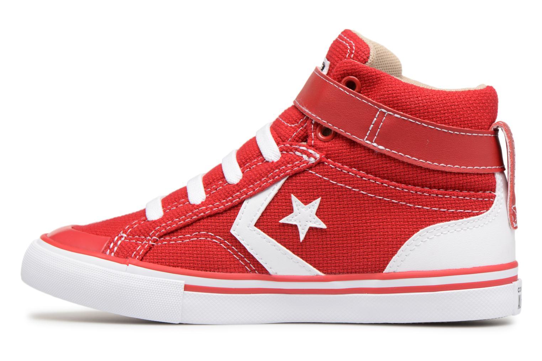 Sneaker Converse Pro Blaze Strap Summer Sport Textile Ox rot ansicht von vorne