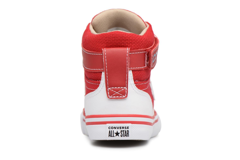 Sneaker Converse Pro Blaze Strap Summer Sport Textile Ox rot ansicht von rechts