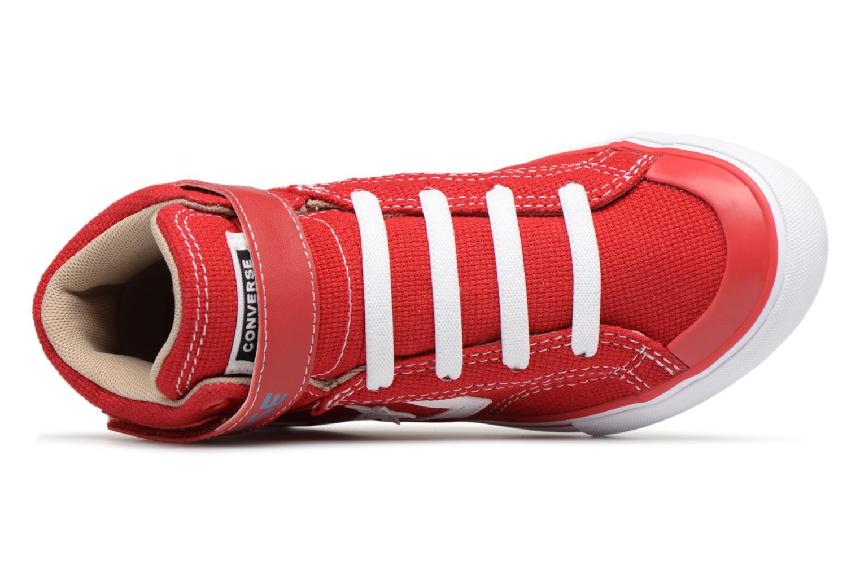 Sneaker Converse Pro Blaze Strap Summer Sport Textile Ox rot ansicht von links