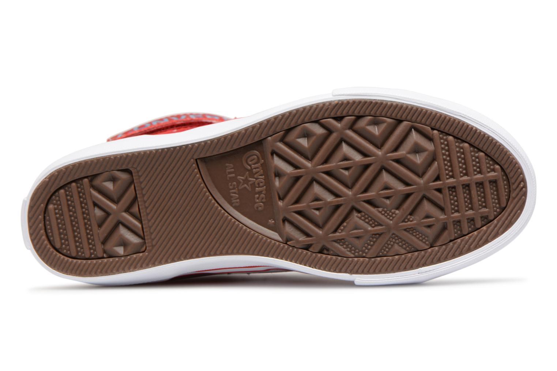 Sneaker Converse Pro Blaze Strap Summer Sport Textile Ox rot ansicht von oben
