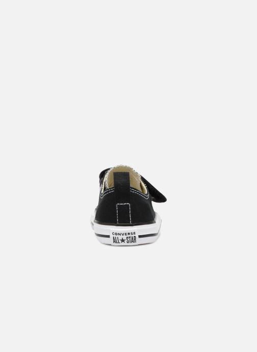 Sneaker Converse Chuck Taylor All Star V  Ox schwarz ansicht von rechts