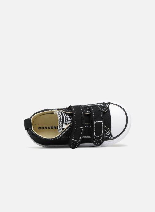 Sneaker Converse Chuck Taylor All Star V  Ox schwarz ansicht von links