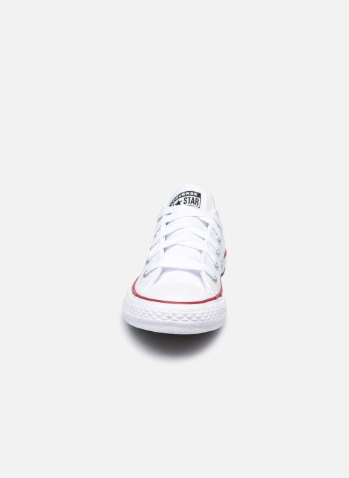 Sneaker Converse Chuck Taylor All Star  Ox weiß schuhe getragen