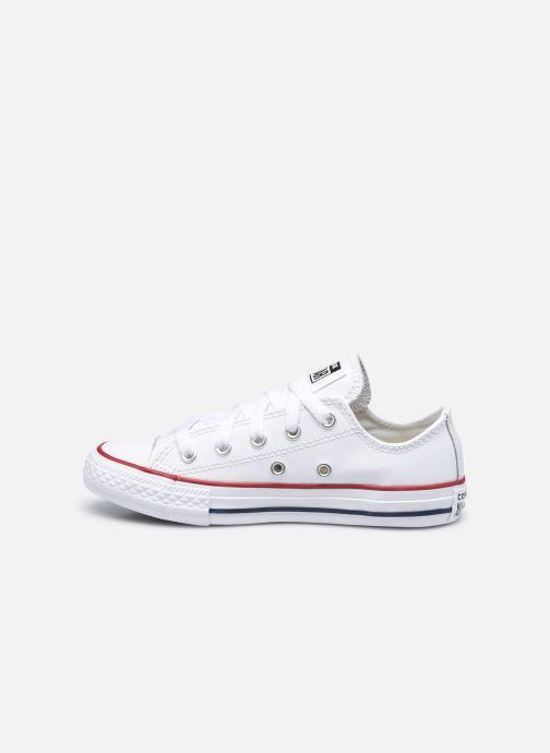 Sneaker Converse Chuck Taylor All Star  Ox weiß ansicht von vorne