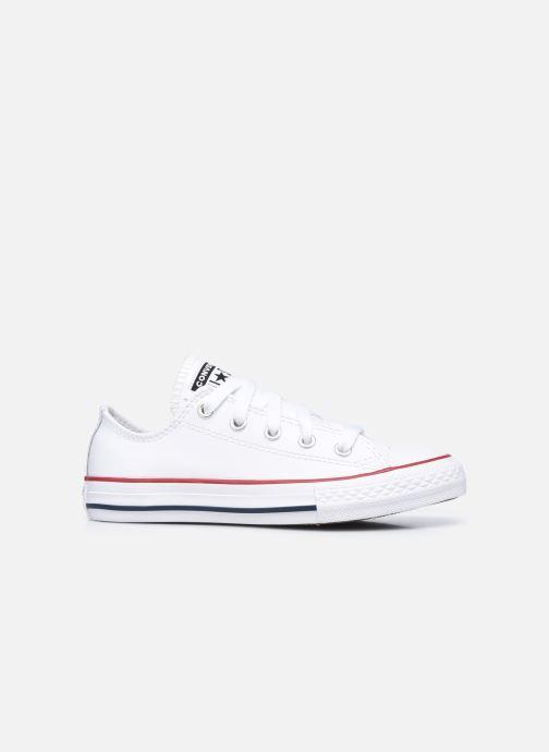 Sneaker Converse Chuck Taylor All Star  Ox weiß ansicht von hinten