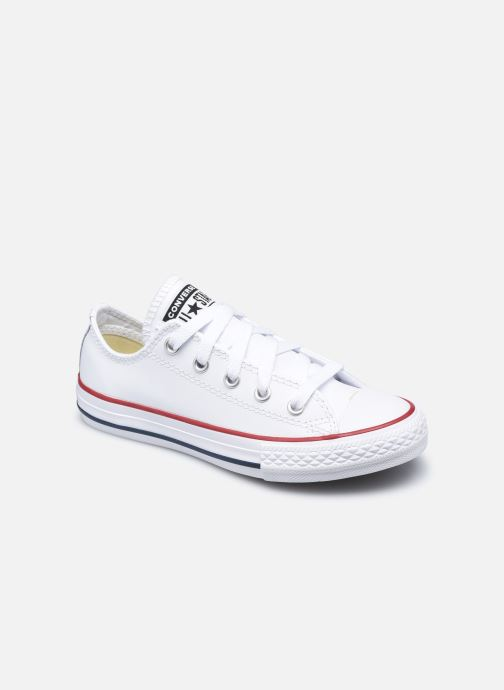 Sneaker Converse Chuck Taylor All Star  Ox weiß detaillierte ansicht/modell