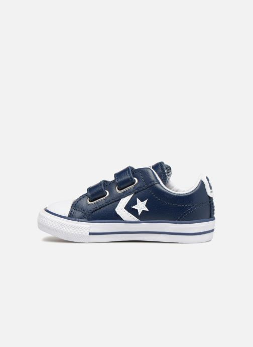 Sneakers Converse Star Player EV 2V Back To School Ox Blauw voorkant