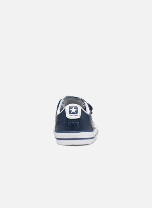 Sneakers Converse Star Player EV 2V Back To School Ox Blauw rechts