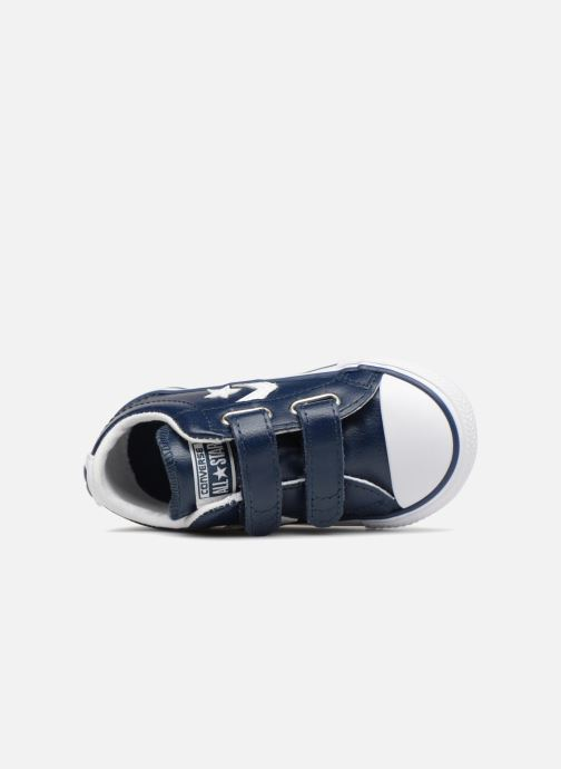 Sneakers Converse Star Player EV 2V Back To School Ox Azzurro immagine sinistra