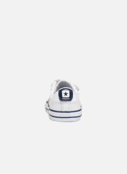 Trainers Converse Star Player EV 2V Back To School Ox White view from the right