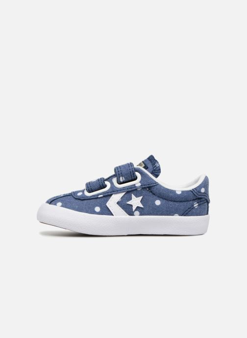 Trainers Converse Breakpoint 2V Girls Polka Dot Ox Blue front view