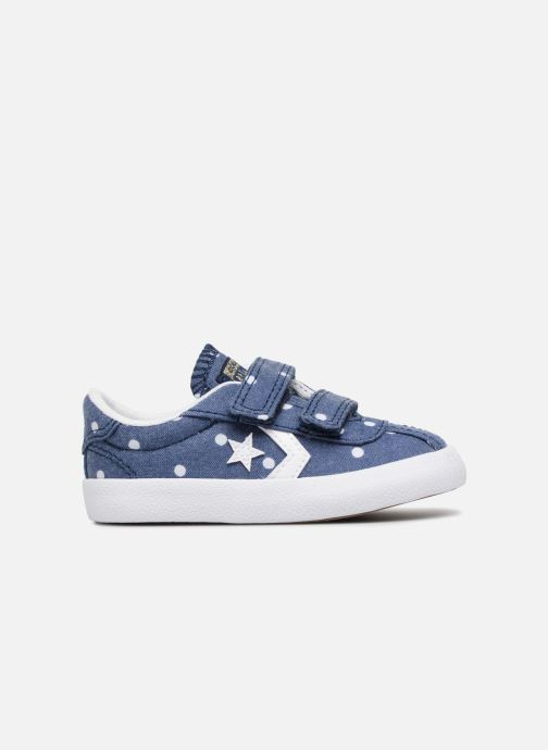 Trainers Converse Breakpoint 2V Girls Polka Dot Ox Blue back view