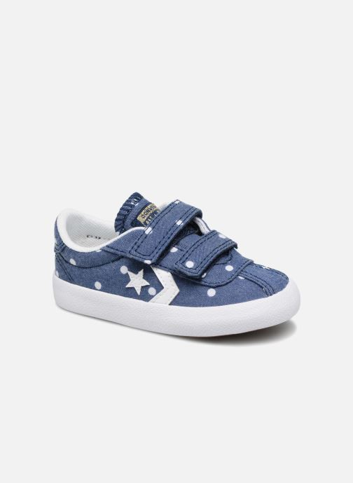 Trainers Converse Breakpoint 2V Girls Polka Dot Ox Blue detailed view/ Pair view