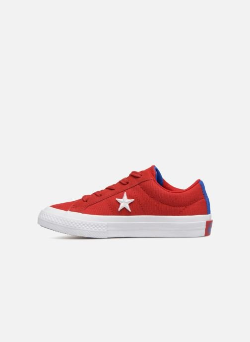 Baskets Converse One Star Country Pride Ox Rouge vue face