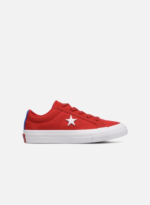 Baskets Converse One Star Country Pride Ox Rouge vue derrière
