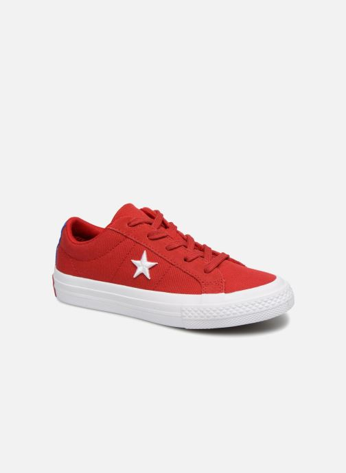 Baskets Converse One Star Country Pride Ox Rouge vue détail/paire