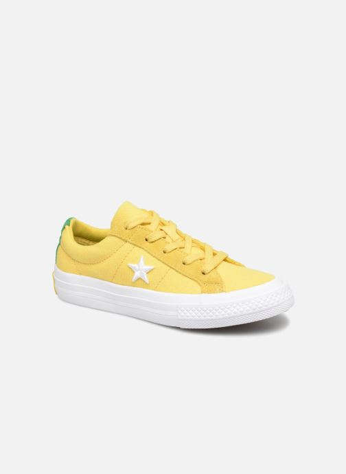 2a666c13fbe9 Trainers Converse One Star Country Pride Ox Yellow detailed view  Pair view
