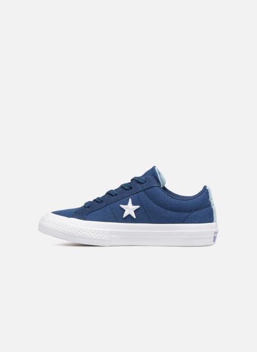 Baskets Converse One Star Country Pride Ox Bleu vue face