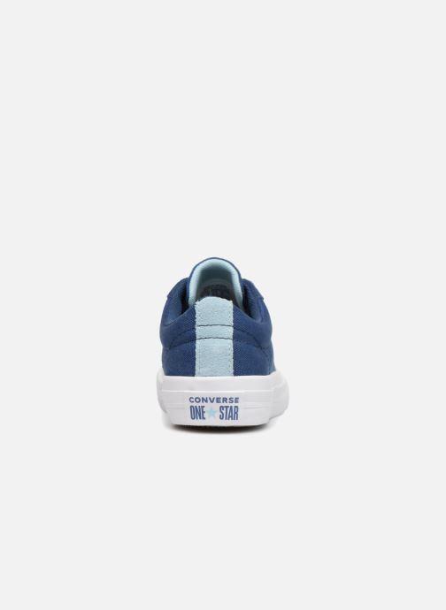 Sneaker Converse One Star Country Pride Ox blau ansicht von rechts