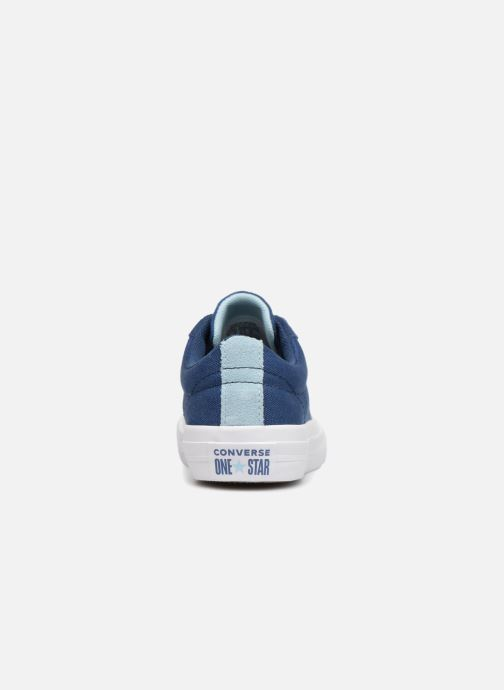 Baskets Converse One Star Country Pride Ox Bleu vue droite