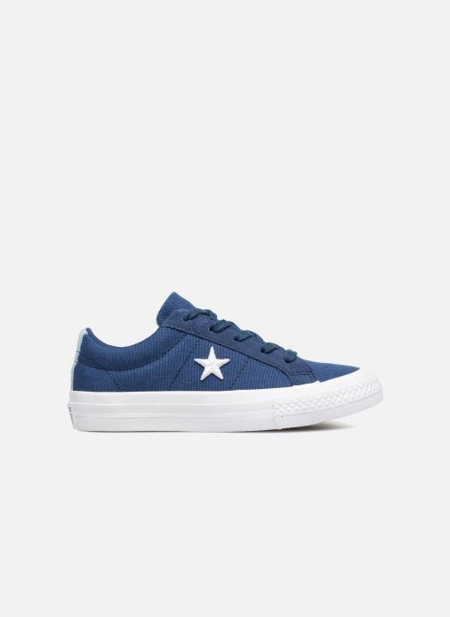 Sneaker Converse One Star Country Pride Ox blau ansicht von hinten