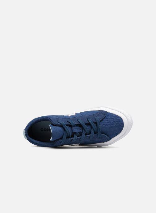 Sneaker Converse One Star Country Pride Ox blau ansicht von links