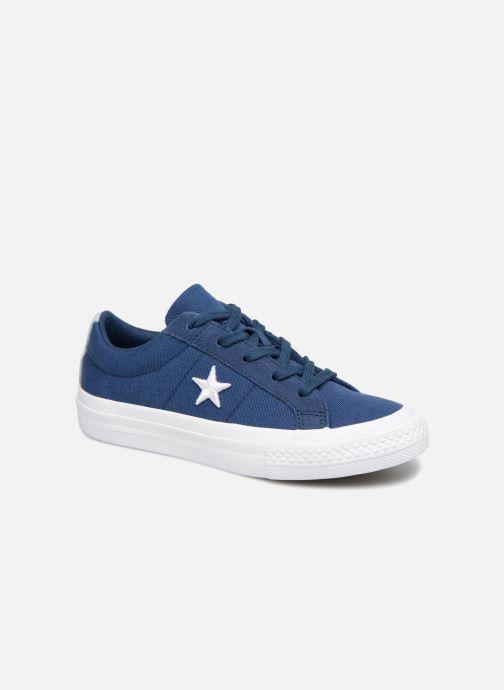 Sneaker Converse One Star Country Pride Ox blau detaillierte ansicht/modell