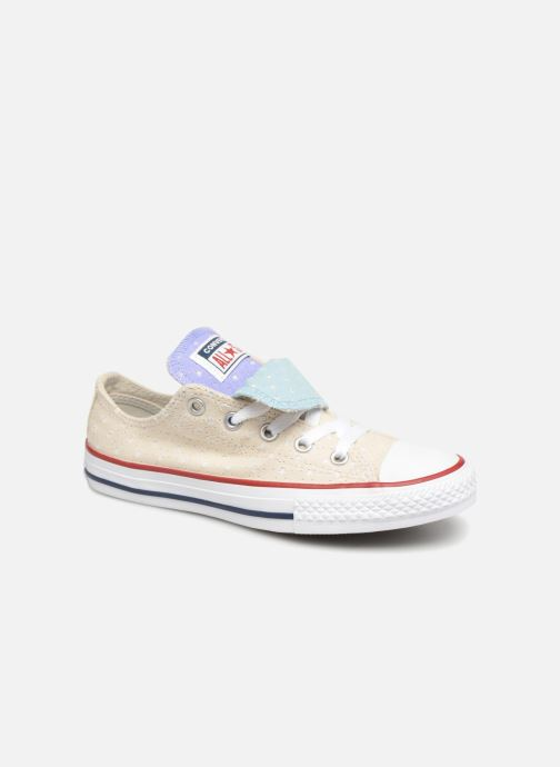 078558eaf040 Converse Chuck Taylor All Star Double Tongue Star Perf Ox (White ...