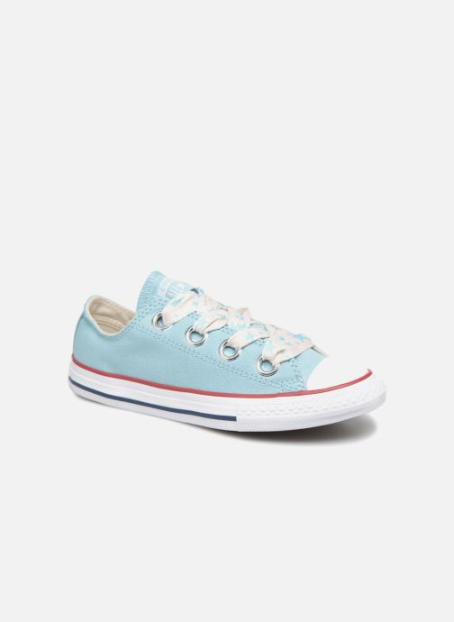 9cfdbe6fdf49 Trainers Converse Chuck Taylor All Star Big Eyelet Star Lace Slip Blue  detailed view  Pair