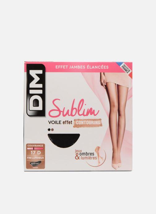 Chaussettes et collants Dim Collant SUBLIM CONTOURING Noir vue détail/paire