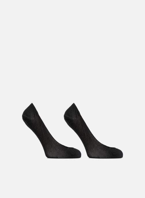 Chaussettes et collants Dim Protèges-pieds échancrés SPECIAL BALLERINES X2 Noir vue détail/paire
