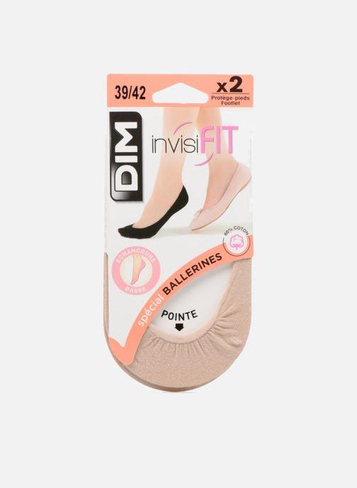 Socken & Strumpfhosen Dim Protèges-pieds échancrés SPECIAL BALLERINES X2 beige detaillierte ansicht/modell