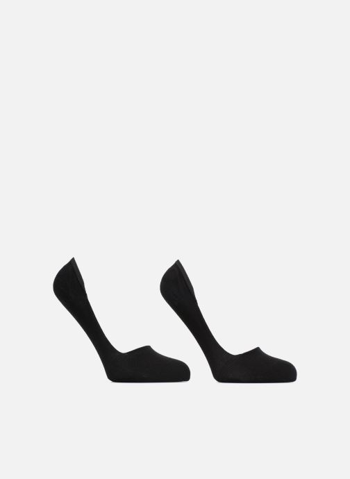 Sokken en panty's Dim Protèges-pieds coton Lot de 2 Zwart detail