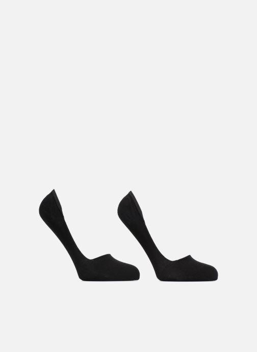 Chaussettes et collants Dim Protèges-pieds coton Lot de 2 Noir vue détail/paire