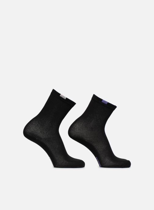 Chaussettes et collants Dim Chaussettes ECODIM W X5 Femme Noir vue face