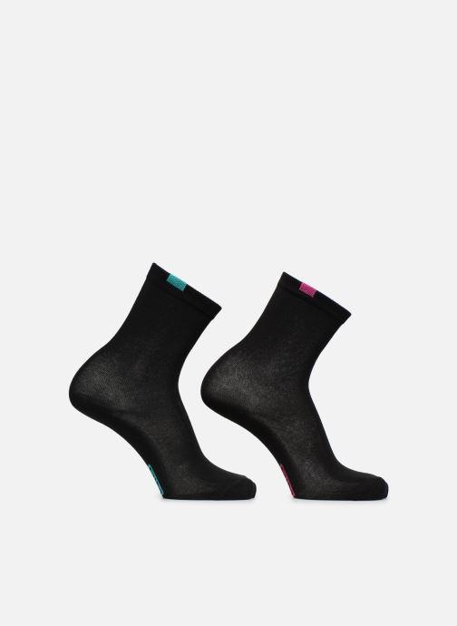 Chaussettes et collants Dim Chaussettes ECODIM W X5 Femme Noir vue droite