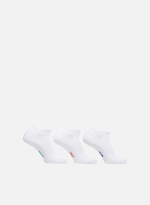 Sokken en panty's Dim Socquette courte coton x3 Wit detail