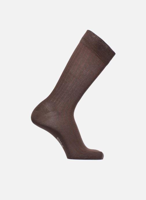 Socken & Strumpfhosen Dim Chaussettes pur coton à côtes x1 schwarz detaillierte ansicht/modell