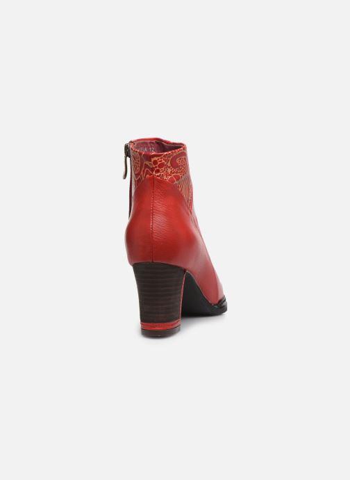 Bottines et boots Laura Vita Angela 12 Rouge vue droite