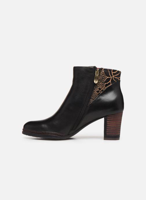 Bottines et boots Laura Vita Angela 12 Noir vue face