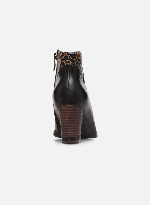 Bottines et boots Laura Vita Angela 12 Noir vue droite