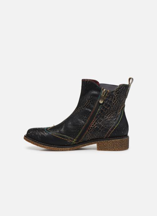 Bottines et boots Laura Vita Coralie 06 Noir vue face