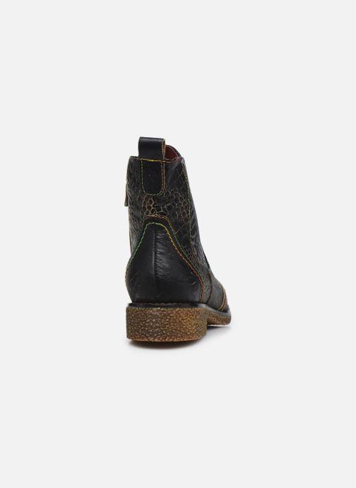 Bottines et boots Laura Vita Coralie 06 Noir vue droite