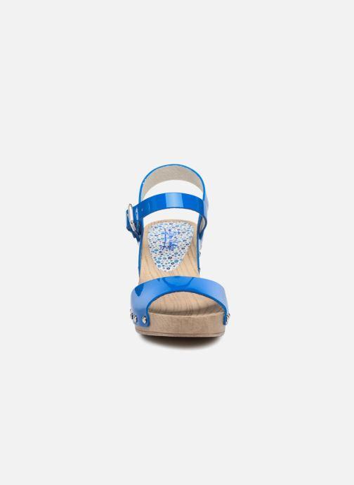 Sandales et nu-pieds Ippon Vintage SOK-COLORS Bleu vue portées chaussures