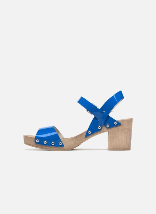 Sandales et nu-pieds Ippon Vintage SOK-COLORS Bleu vue face