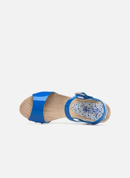 Sandales et nu-pieds Ippon Vintage SOK-COLORS Bleu vue gauche