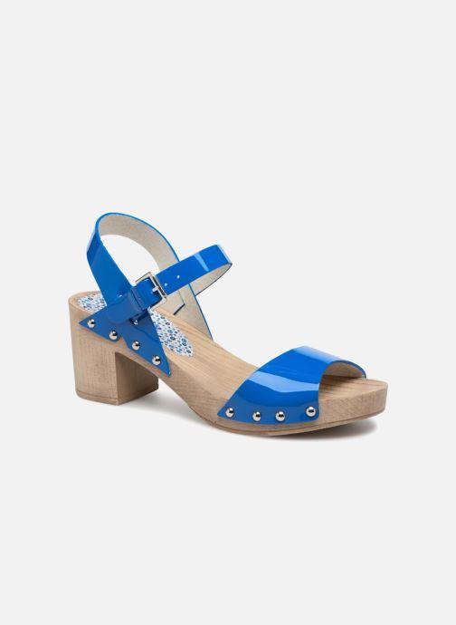Sandales et nu-pieds Ippon Vintage SOK-COLORS Bleu vue détail/paire